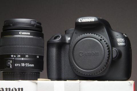 18MP Canon 1200d dslr with Canon 18-55mm DC lens for sale