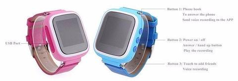 KIDS GPS Smartwatch: Helps you to keep your kids safe and contactable NOW R400
