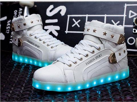 LED light-up sneakers - shandis - shoes ...starting from R400