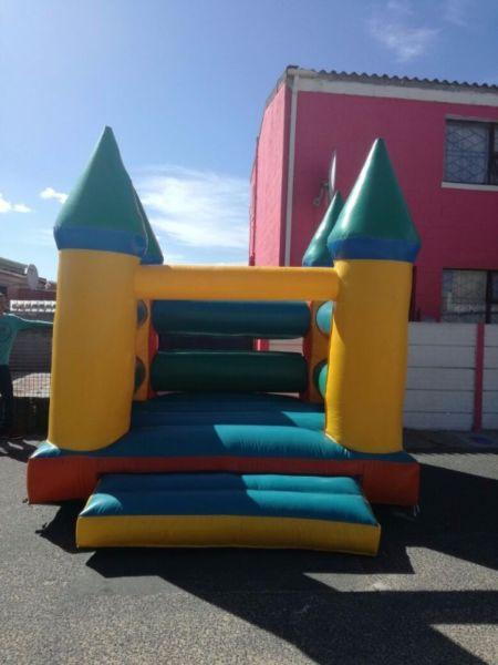 Kiddies party equipment for hire