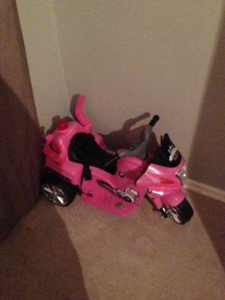 Electronic Bike for a girl