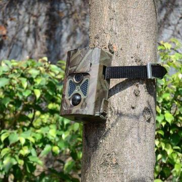 Trail camera (GSM) with solar panel