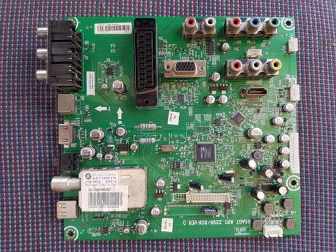 USED Hisense RSAG7.820.2296 Main Boards TV Logic Control Motherboards Flat Panel Television Parts