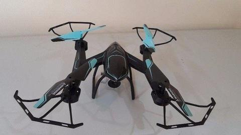 RC DRONE FOR SALE WITH HD CAMERA QUADCOPTER WITH REAL TIME VIDEO - CAMERA PHONE HOLDER -WITH APP