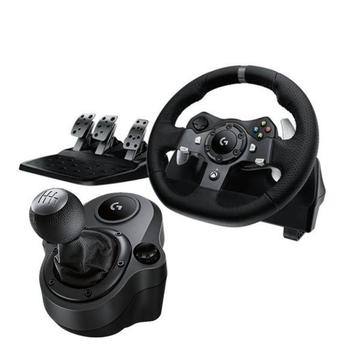 Logitech G G920 DRIVING FORCE RACING WHEEL FOR XBOX ONE AND PC + Free Shifter