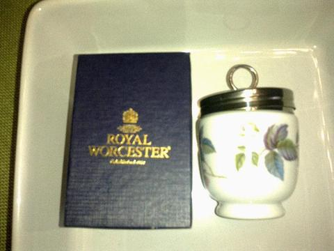 Royal Woercester Double Egg Coddler