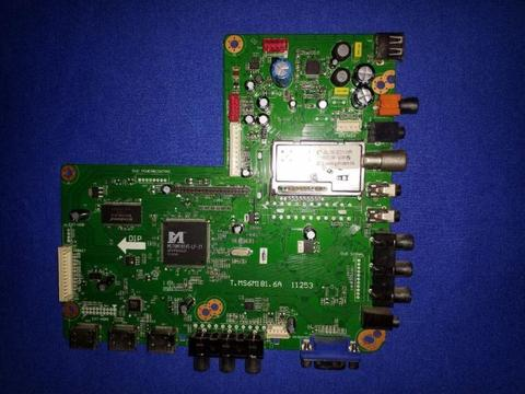USED AIM Main Boards T MS6M181 6A 11253 TV Logic Control Motherboards Flat Panel Television