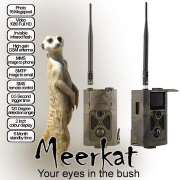 Meerkat 16 megapixel GSM trail camera (new)