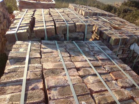 11 000 Clay Stock Bricks for Sale R1.35 Each