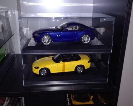 Acrylic Display Cases for Diecast Model Cars 1:18 Scale