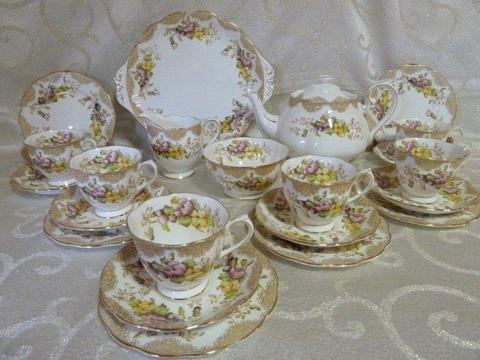 Royal Alber Love Lace tea set for sale