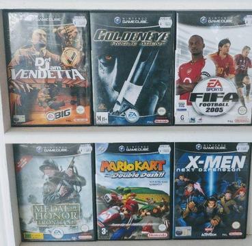 *CHEAP* GameCube Games: Def Jam Vendetta,Golden Eye Rogue Agent , Mario Kart Double Dash