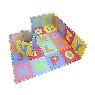 Educational ABC Eva Foam Floor Mat – 52 Piece