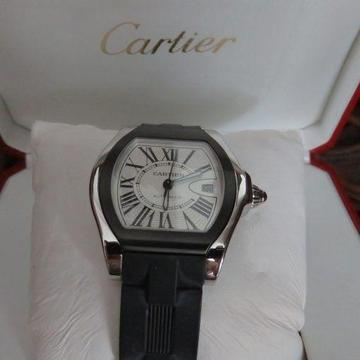 ** Silvertrust ** CARTIER ROADSTER LARGE MENS AUTOMATIC