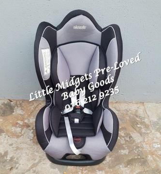 Safeway Moto X3 car seat (9 kg to 25 kg)