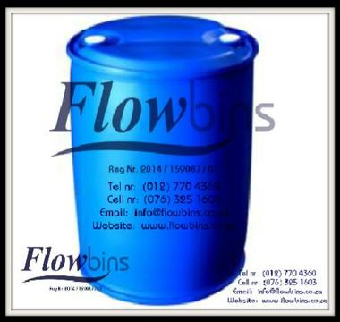 Gauteng: 210Lt Blow Pack Plastic drums / Blue round drums from R260