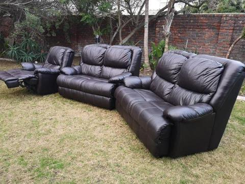 Leather Couch Oxblood Brick7 Sales