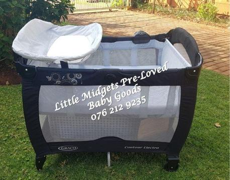 Second Hand Graco Contour Electra Camping Cot