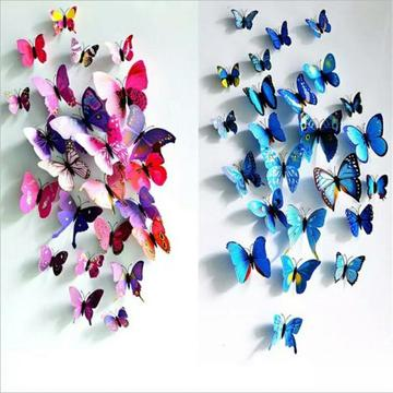 Butterfly wall art various colours for sale