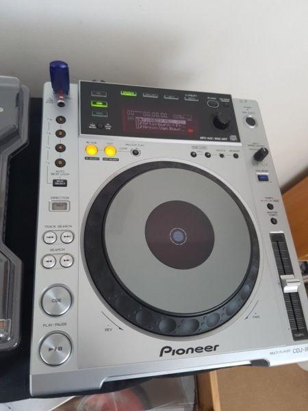 X2 PIONEER DJ CDJ 850 USB, CD PLAYER (pair)