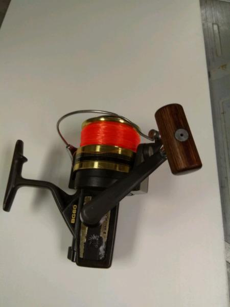 Daiwa BG 60 coffee grinder fishing reel for sale