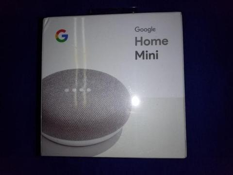 BRAND NEW GOOGLE HOME MINI Assistant - Chalk - BACK IN STOCK - Get Assistance In Any Room