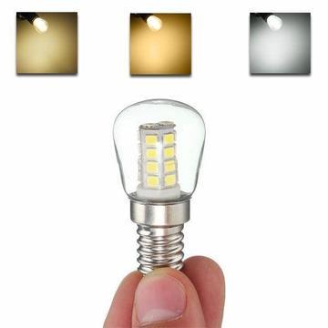 E14 2.5W 26 SMD 2835 LED Glass Fridge Freezer Appliance 360 Degree Light Bulbs AC 220V