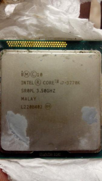 I7 3770k cpu socket 1155 cpu only