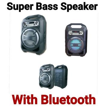 Super Bass Portable Bluetooth Speakers