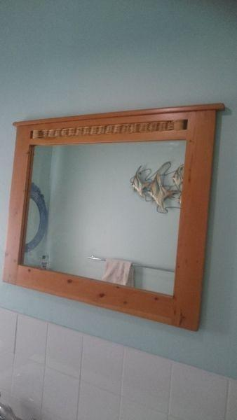 Mirror with Cypress frame