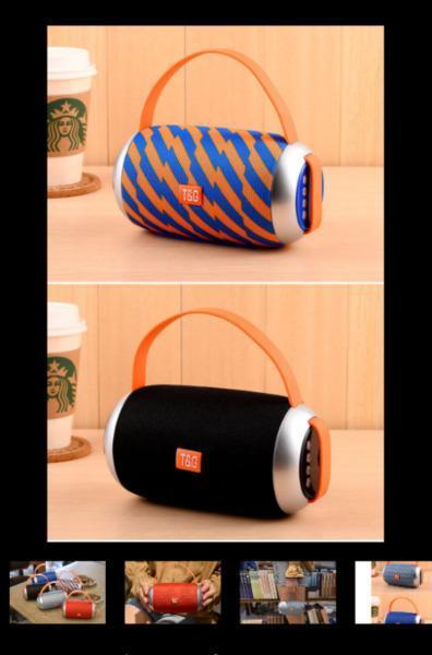 Portable Carry Bluetooth Loudspeaker