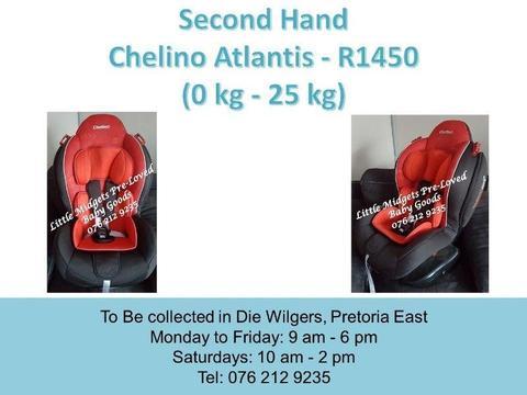 Second Hand Chelino Atlantis (0 kg - 25 kg)