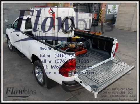 Gauteng- NEW 1000L Pressure Washer 0-178 Bar adjustable - Bakkie Skids and Trailers from R11 290