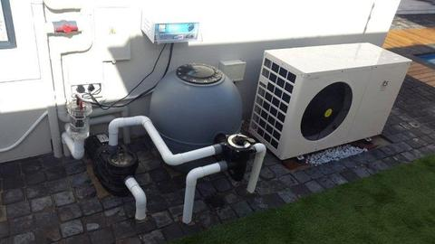 Pool Heat Pump - is a great investment in your home and you can use your pool 365 days a year,35deg
