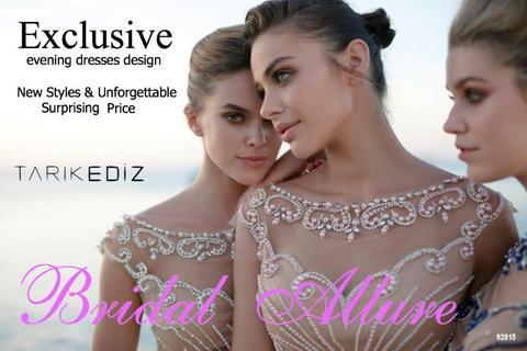 Evening Dresses by Tarik Ediz .- Sale price 50%OFF