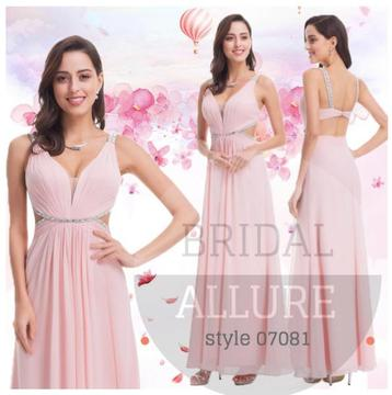 Evening , MATRIC , Bridesmaid Dress Style 07081
