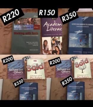 Unisa BED books for sale
