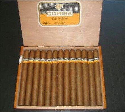(25 Full box) Quality Cohiba Esplendidos Cigars & Cohiba Robustos Cigars - R2.5k per box