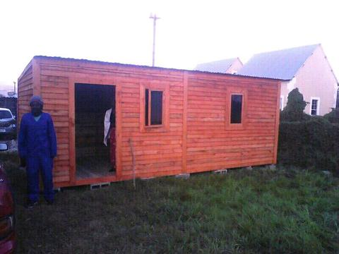 Wendy houses, nutec houses, guardrooms, garden sheds, carports at best price