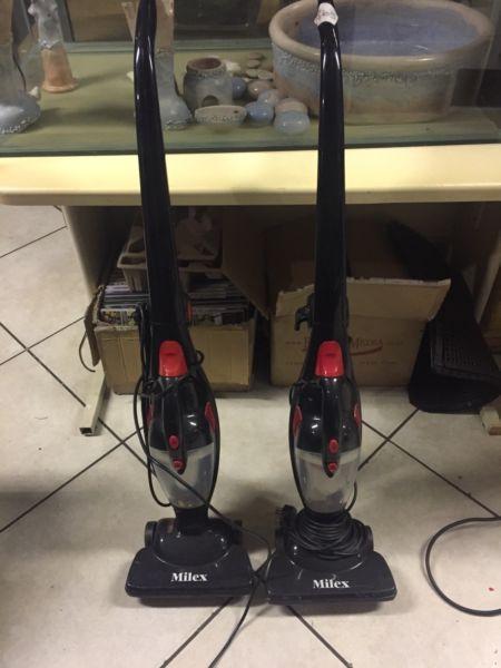 Milex Vacuum Cleaner x 2