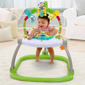 Fisher Price Rainforest Friends SpaceSaver Jumperoo Brand New in the Box