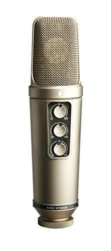RODE NT2000 Microphone with cradle and metal SE goose-neck pop screen, R4400 never used