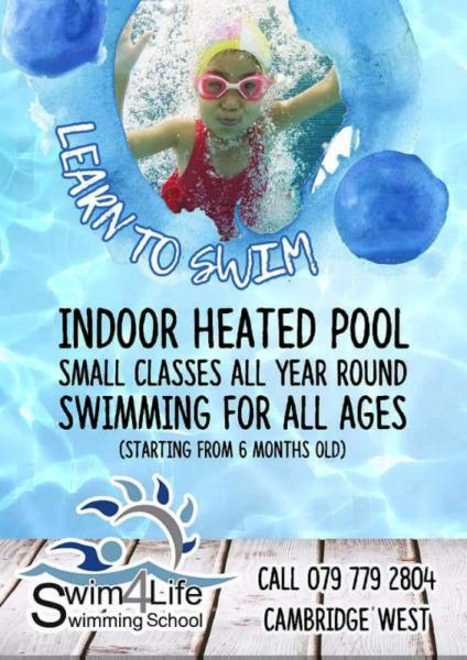 Swimming Lessons East London