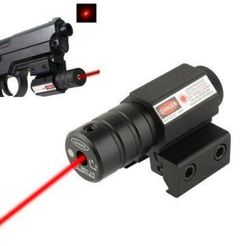 Red Dot Laser Sight - Tactical Pistol Laser Sight - Adjustable 11mm-20mm Picatinny Weaver Mount