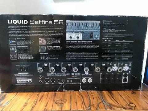 Liquid Saffire 56 Sound Card