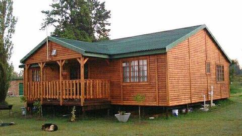 Thabo log home for special price