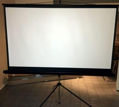 Projector Screen - 2 metre wide / 16:9 HD