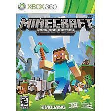 XBOX 360 MINECRAFT (LOTS OF OTHER TITLES IN STORE)