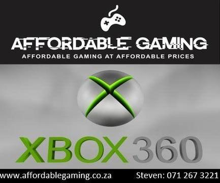 Xbox 360 Games for Sale, Buy and Trade-ins A-K -Parow and Century City Area
