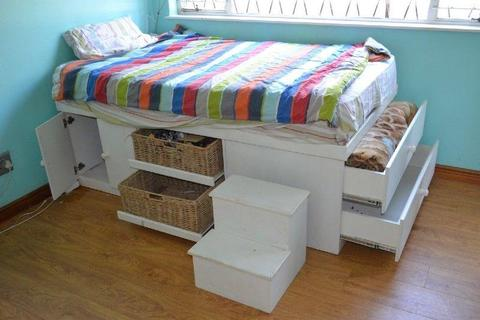 Double Bed With Storage Drawers Brick7 Sales